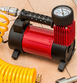 Portable car air compressors