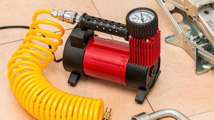 Portable car air compressors