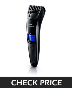As a campaigner of the Philips family, Norelco Beard Trimmer has a special feature of inbuilt length settings. With attaching various accessories you have 20 in-build length settings in this trimmer and it has included a locking feature for customizable trimming. Rounded self-sharped blades are super durable and prevent skin irritation. No need any maintenance and oil treatment for these self-sharped blades. The high power rechargeable battery provides 45 min. run time in a single charge for 10 hours. This trimmer comes with a fully washable head and it is easy to clean.