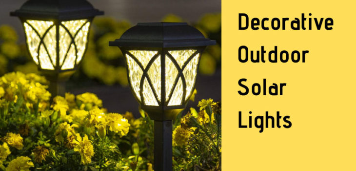 Decorative Outdoor Solar Lights Main