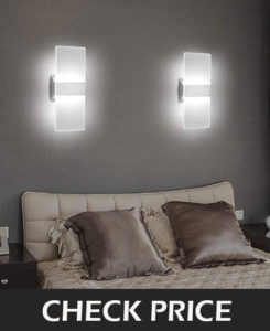 3.	LED Wall Sconce Modern Wall Light Lamp