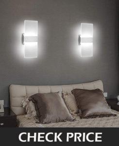 3.LED Wall Sconce Modern Wall Light Lamp