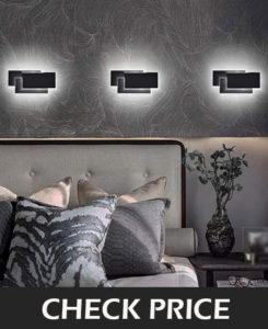Ralbay Modern Wall Sconces 24W LED Wall Mounted Light